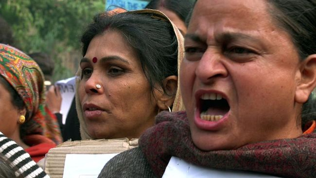 Sexualbrott mot kvinnor i Indien