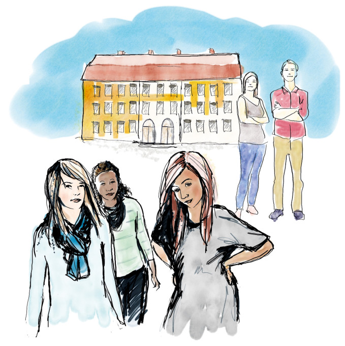Elever tvingas leta efter negativa tankar