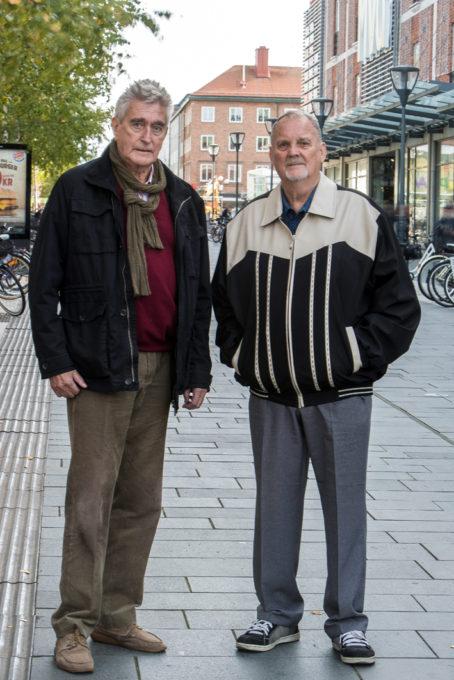 Fängelsechefen Gunnar Engström och fången Janne Olsson blev vänner.
