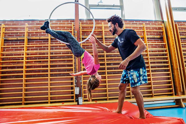 Alla är akrobater