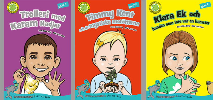 Vi lottar ut barnböcker från Olika förlag